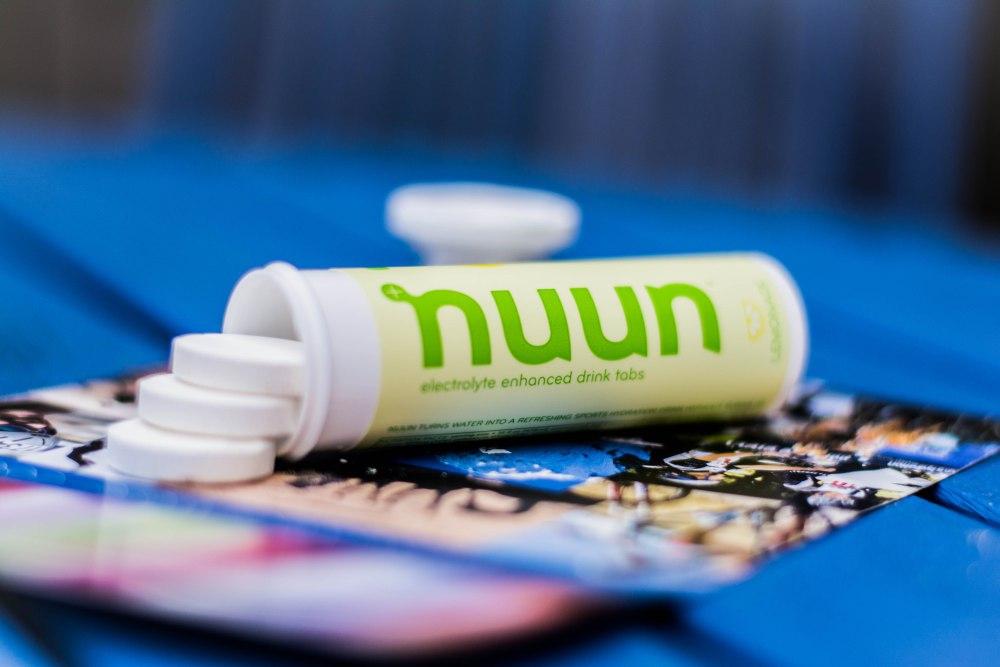 Nuun Tablet Spill