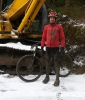 GoreBikeWear keeping me comfortable out in the snow
