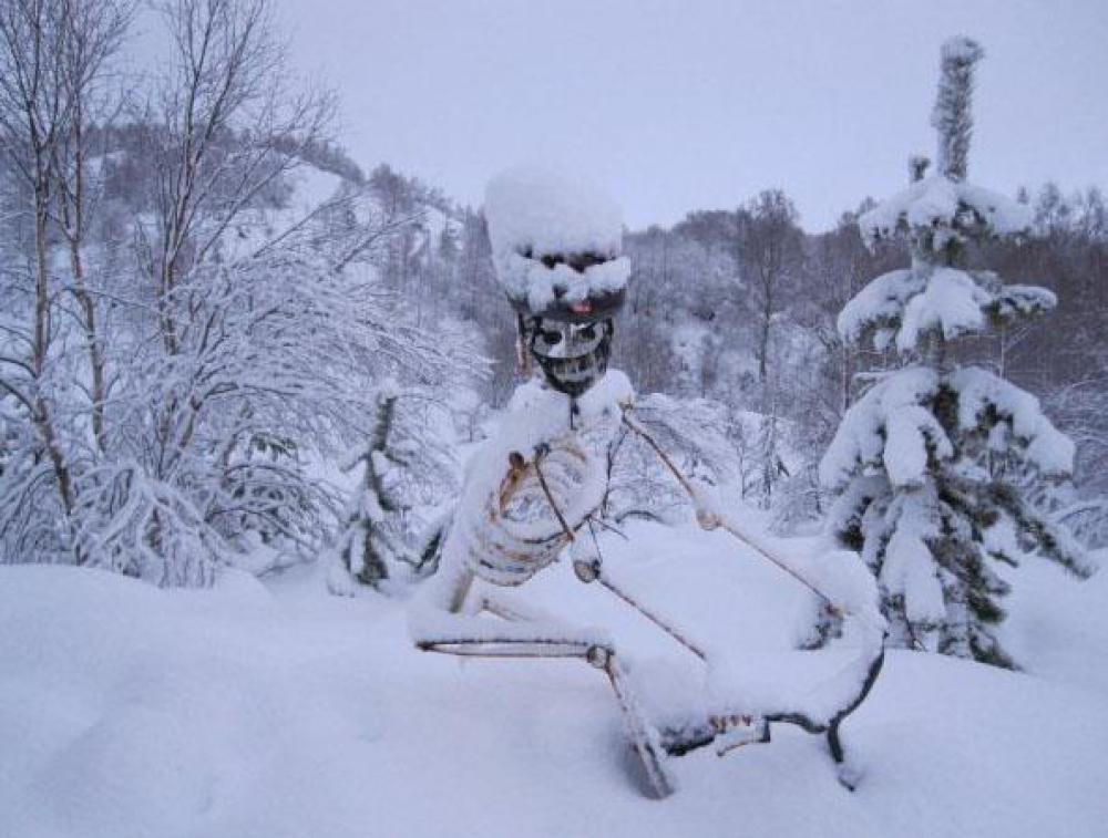 Strathpuffer Bill in current snow