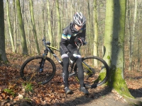 Rider Blog: Soreen, traffic cones and a bike race - Lomas Wefing