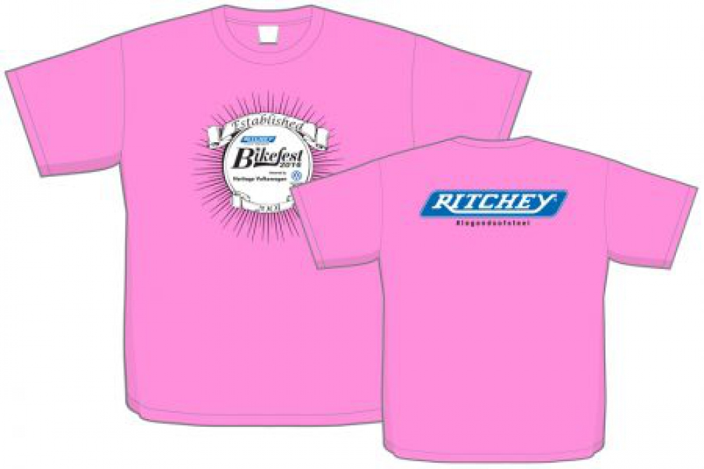 Ritchey Bikefest 2016 - T-shirt Visual 4-5-16