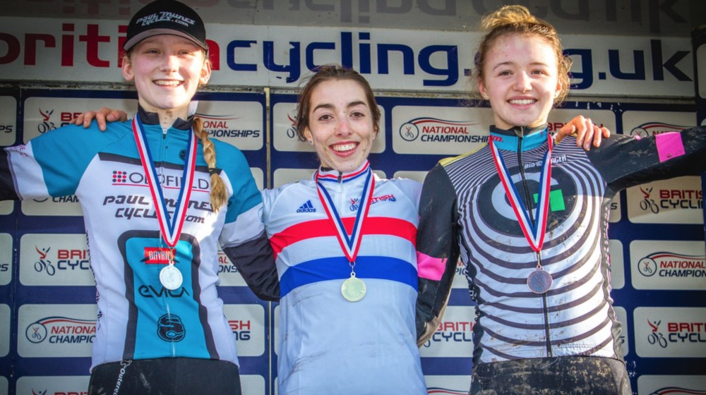 Sophie cx podium