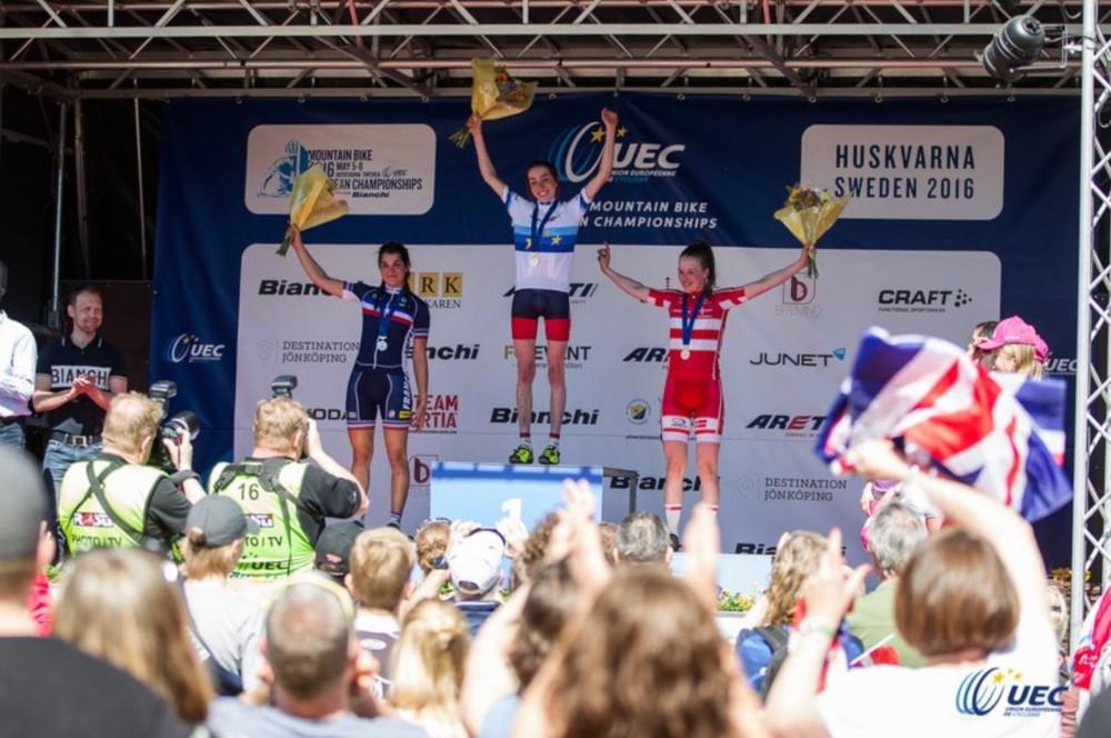 Sophie euro podium